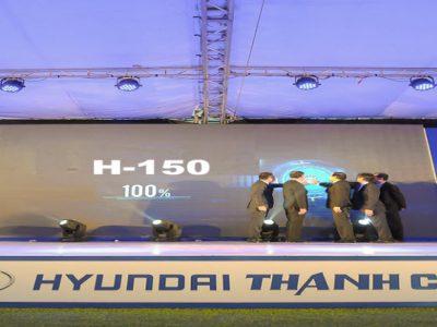 Ra mắt xe tải nhẹ 1.5 Tấn của thành công với tên gọi Hyundai H150 Porter