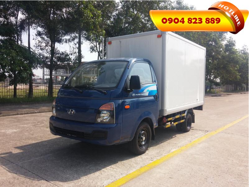 Xe tải 1.5 Tấn Hyundai H150 Thùng Kín