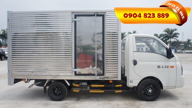 Xe tải 1.5 Tấn Hyundai H150 Porter Thùng Kín