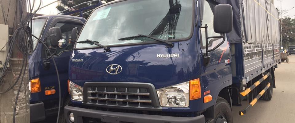 Bàn giao xe tải Hyundai HD120SL Thùng dài đầu tiên của miền bắc tới khách hàng