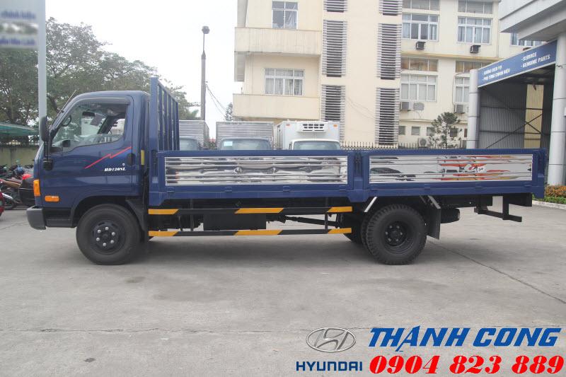 Xe tải thùng dài 8 Tấn Hyundai HD120SL Thùng Lửng