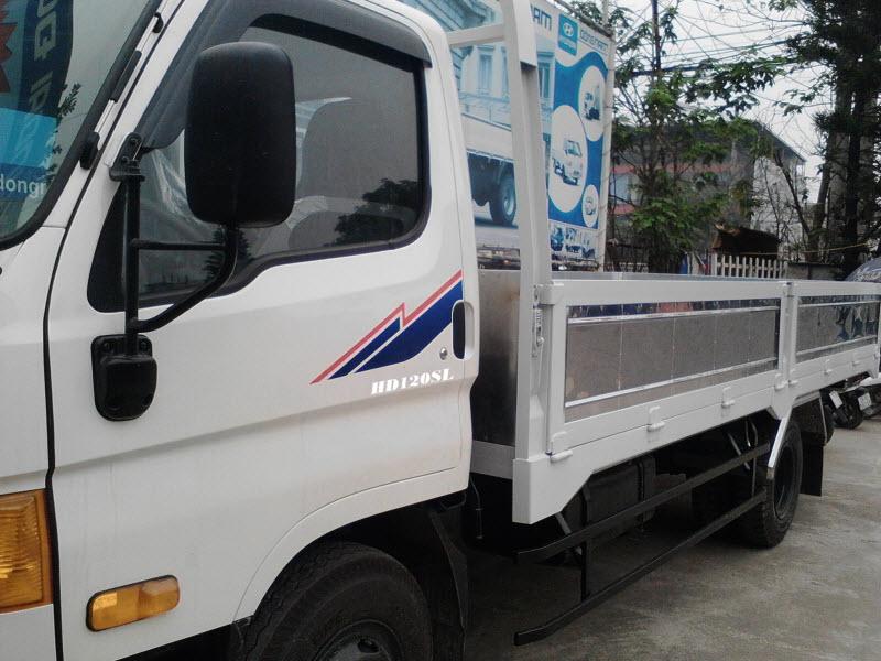 Xe tải HD120SL thùng dài chính thức có xe