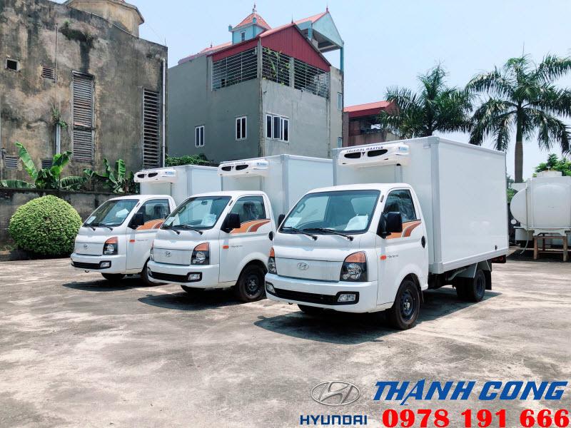 Hyundai Porter 150 Thùng Đông Lạnh
