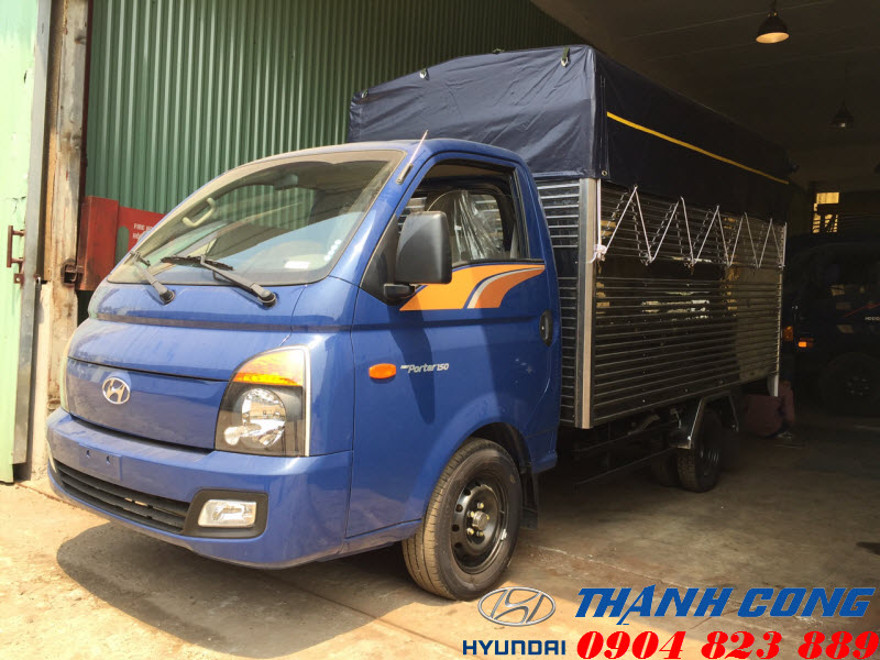 Hyundai 1.5 Tấn H150 Porter Thùng Bạt
