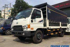 Xe tải thùng dài 8.5 Tấn Hyundai HD120SL Thùng Bạt