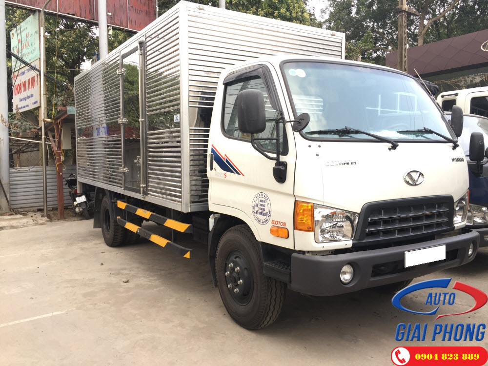Xe tải Thùng Dài Hyundai HD120SL 8 Tấn Thùng Kín