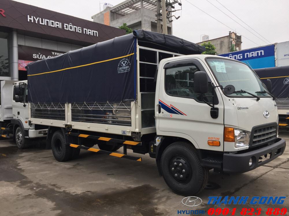 Hyundai HD120SL Thùng Dài 8.5 Tấn Đô Thành