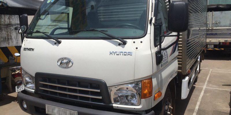 Xe tải HD120SL thùng dài chính thức có xe về đại lý