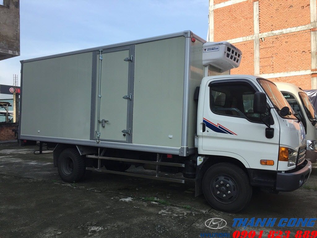 Xe tải thùng đông lạnh Hyundai HD120SL 8 Tấn Thùng Dài