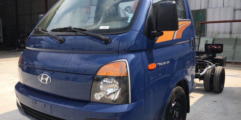 Chi phí lăn bánh xe Porter 150 1.5 Tấn Thành Công