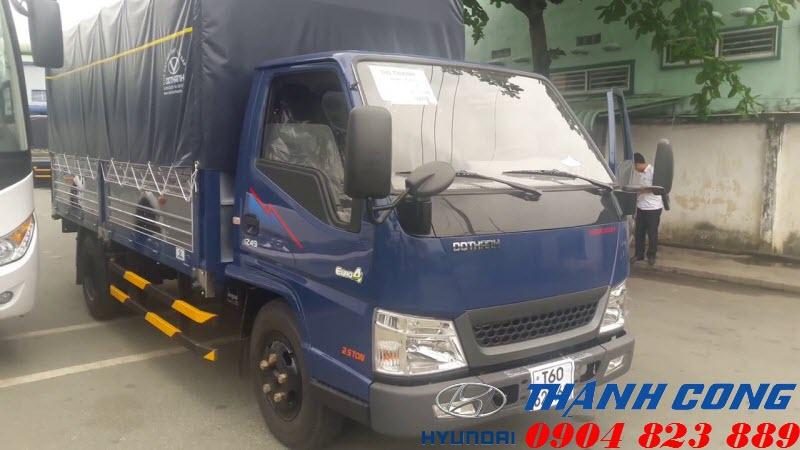 Xe tải Đô Thành IZ49 Euro4 2018 mới