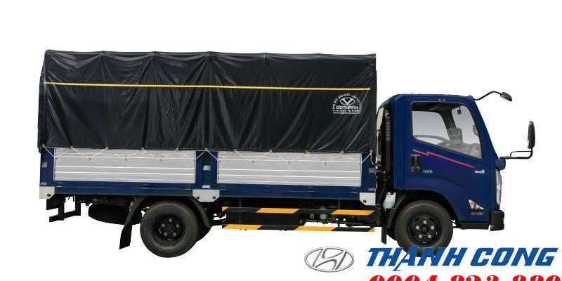 Giá xe IZ65 Gold 2.5 Tấn Đô Thành mới ra mắt