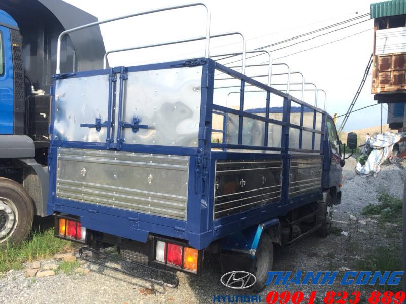 Hyundai N250 Thùng Mui Bạt