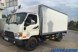 Xe tải 7 tấn Đồng Vàng Hyundai HD700 Thùng Kín