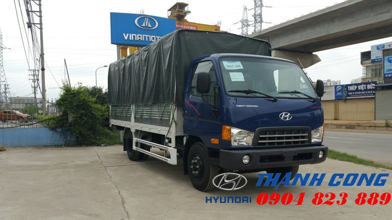 Xe HD700 Đồng Vàng 7 Tấn