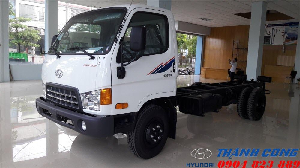Xe tải 7 tấn Hyundai HD700 Đồng Vàng