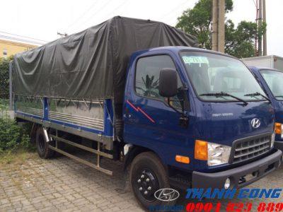 Giá xe HD700 Đồng Vàng Thùng Mui Bạt