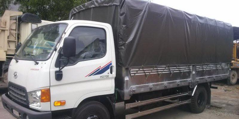 Đại lý bán xe tải HD700 Đồng Vàng tại Sơn Tây