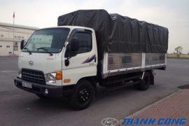 Xe tải Hyundai HD700 Thùng Mui Bạt 7 Tấn Đồng Vàng