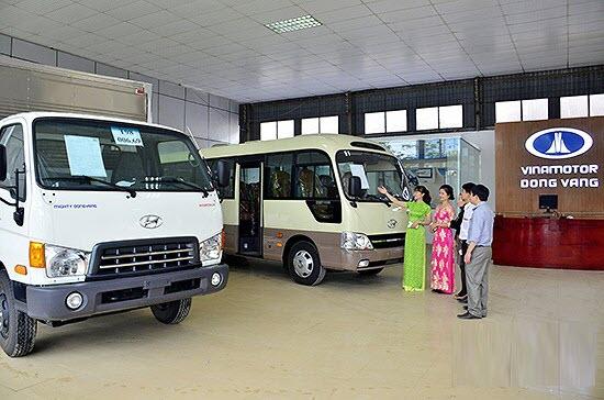 Đại lý chính hãng xe tải Hyundai Đồng Vàng
