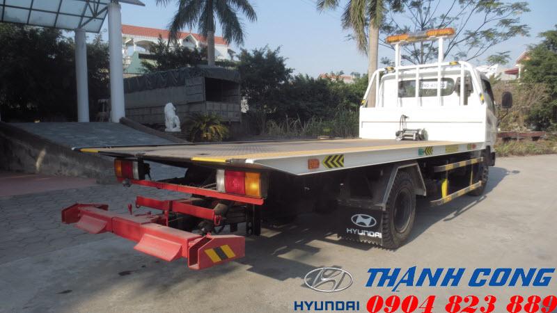 Xe cứu hộ sàn trượt Hyundai HD700 Đồng Vàng 7 Tấn