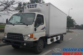 Xe tải HD700 Đồng Vàng Thùng Đông Lạnh 7 Tấn