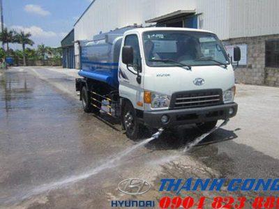 Báo giá xe xi téc 6 khối Hyundai HD700 Đồng Vàng