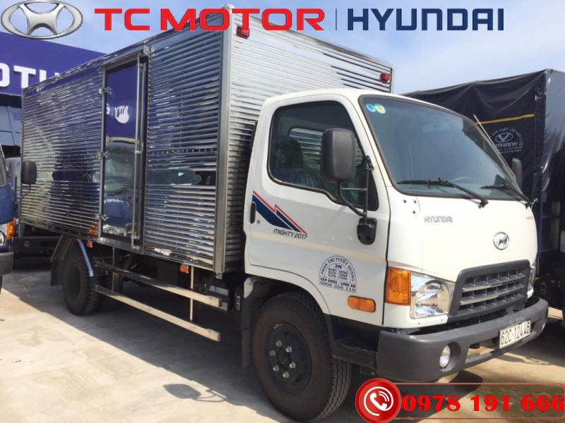 Hyundai Mighty 2017 Thùng Kín 8 Tấn Thành Công