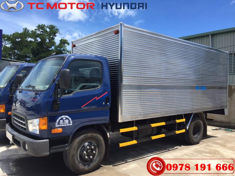 Xe tải Hyundai Mighty 2017 Thùng Kín Thành Công