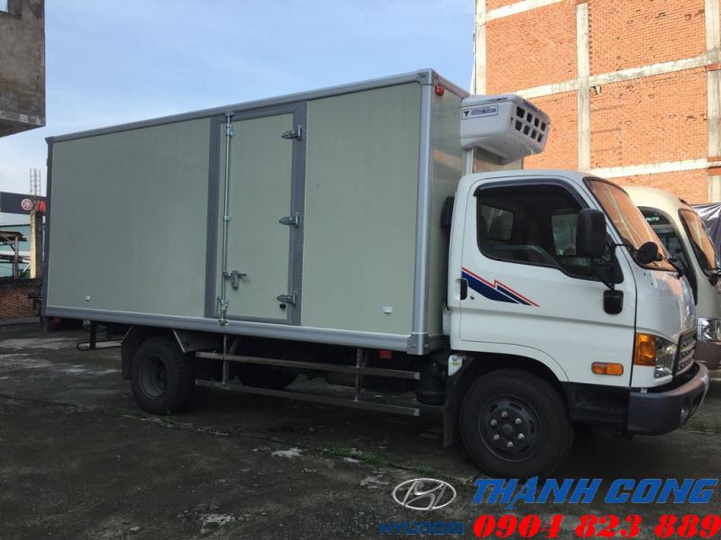Hyundai 110S Thùng Đông Lạnh