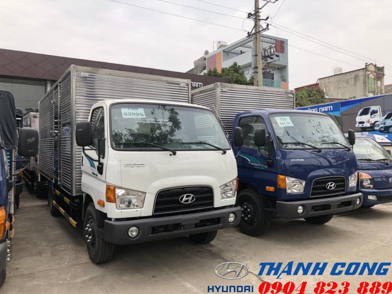Hyundai 110S Thùng Kín 7 Tấn Thành Công