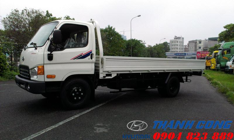 Hyundai 110S Thùng Lửng 7 Tấn Thành Công