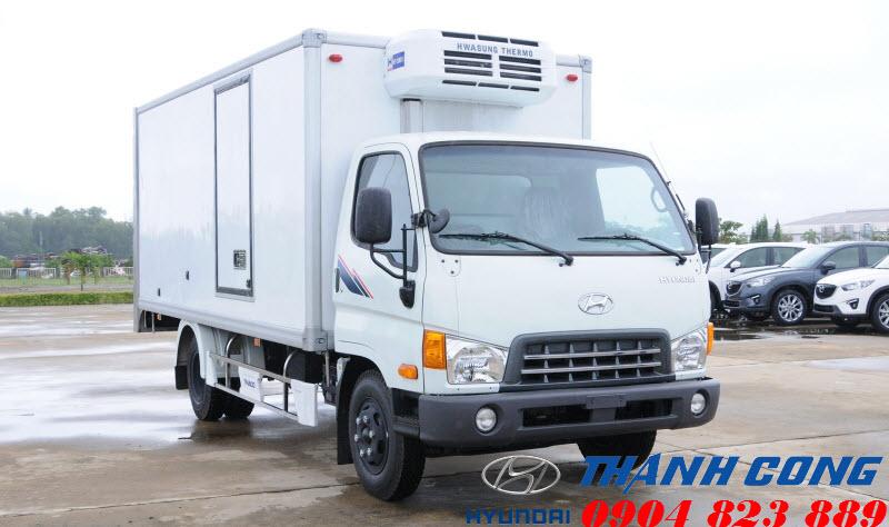 Xe tải 8 tấn Hyundai Mighty 2017 Thùng Đông Lạnh