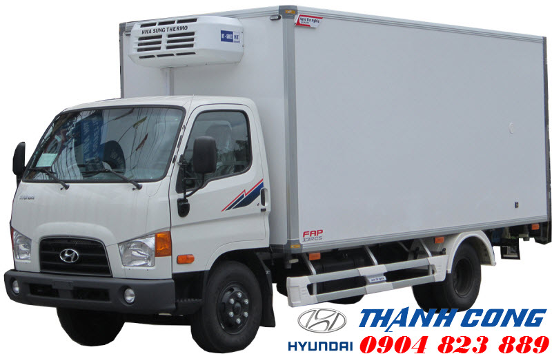 Hyundai Mighty 2017 Thùng Đông Lạnh