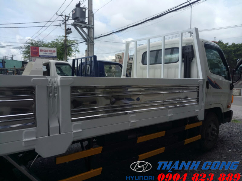 Hyundai Mighty 2017 Thùng Lửng