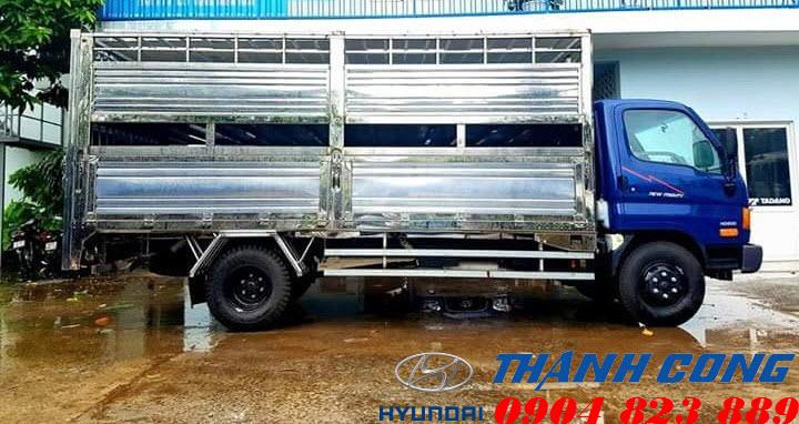 Xe tải chở lợn Hyundai 110S 7 Tấn 2 Tầng