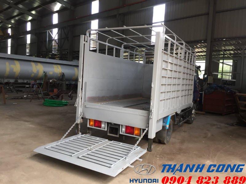 Xe tải Hyundai N250 2.5 Tấn Thùng Bửng Nâng Hạ Mui Bạt