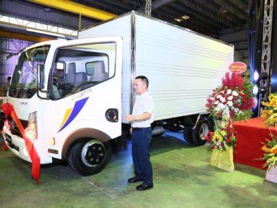 Vinamotor ra mắt sản phẩm xe tải Cabstar hoàn toàn mới
