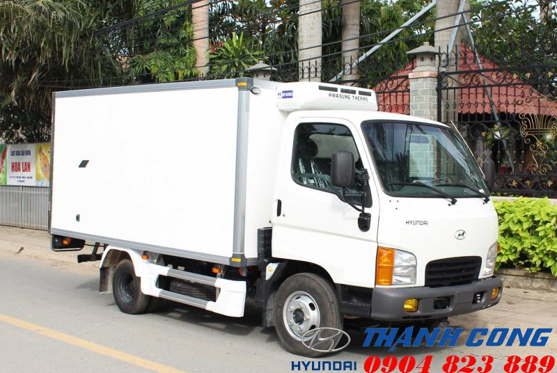 Xe tải 2.5 Tấn Thùng Đông Lạnh Hyundai N250 Thành Công