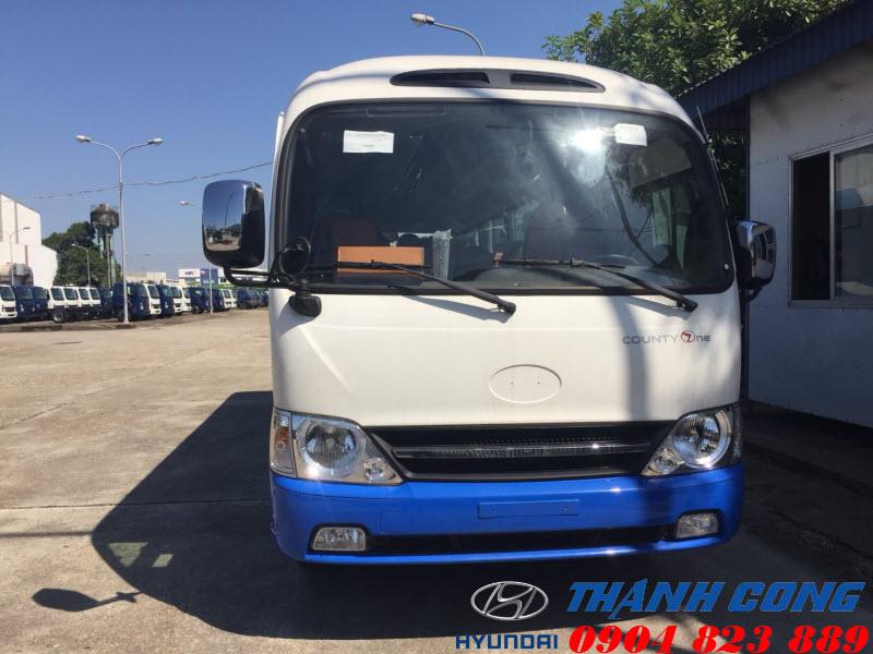 Hyundai County One Đồng Vàng Thân Dài 29 Chỗ