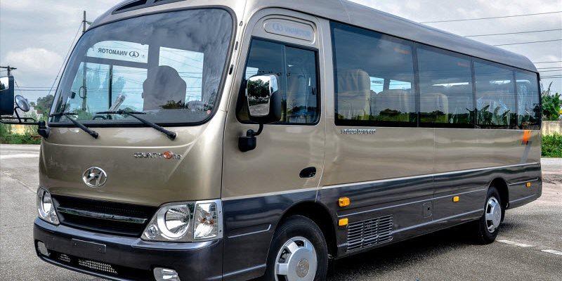 Giá Xe Hyundai County One Đồng Vàng 29 Chỗ Thân Dài