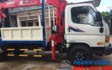 Xe tải gắn cẩu 7 tấn