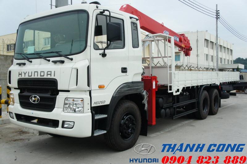 Xe tải Hyundai HD260 15 Tấn 3 chân nhập khẩu nguyên chiếc