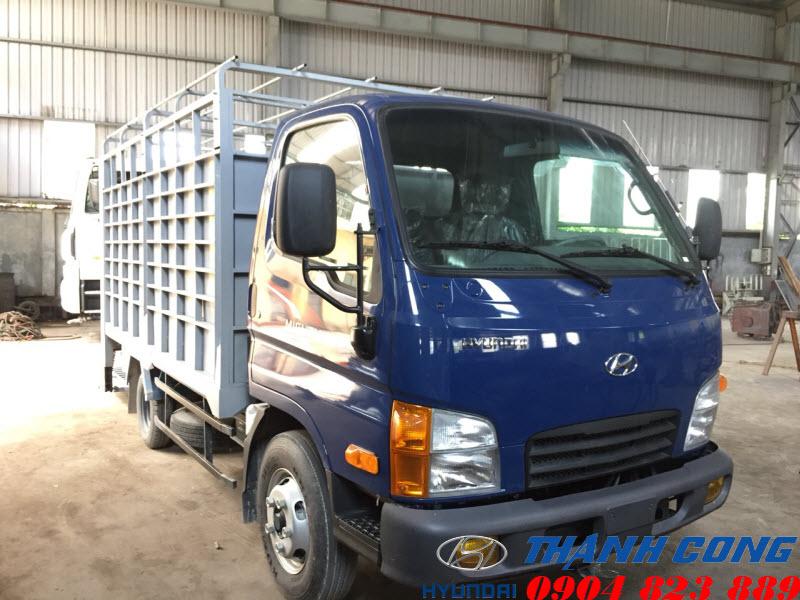 Hyundai N250SL Thùng Mui Bạt Dài 4m3