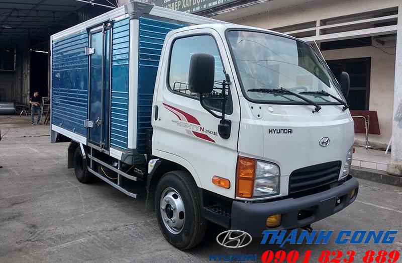 Hyundai N250SL Thùng Kín Dài 4m3