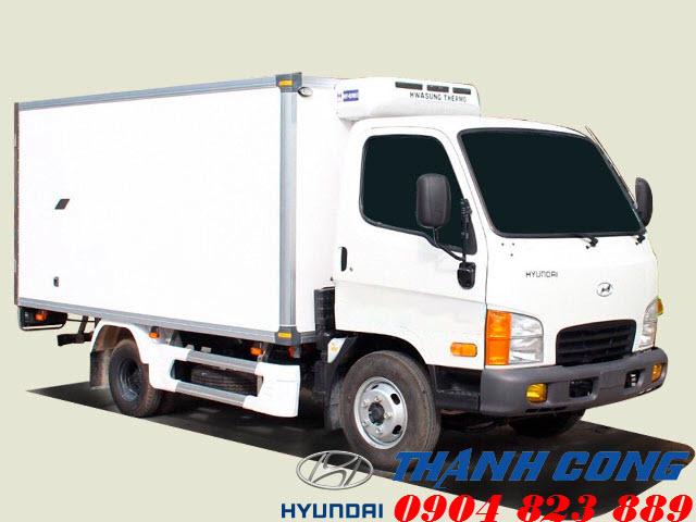 Hyundai N250SL Thùng Đông Lạnh Dài 4m3