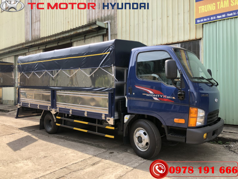 Hyundai N250SL Thùng Bạt