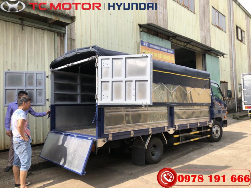 Hyundai N250SL Thùng Mui Bạt
