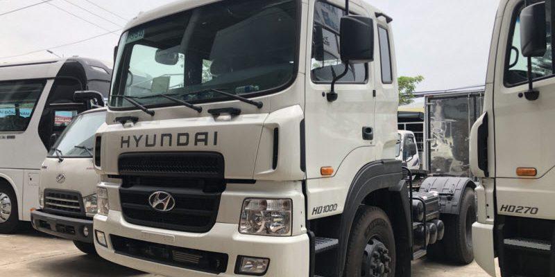 Thông số xe đầu kéo Hyundai HD1000