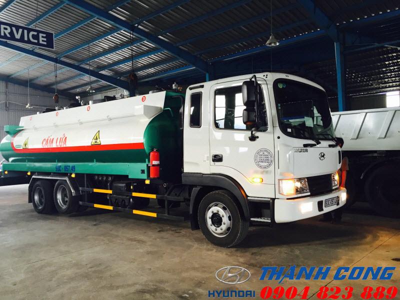 Xe tải Hyundai HD240 Nhập Khẩu 15 Tấn 3 Chân